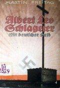 """[Cover: """"Albert Leo Schlageter – ein deutscher Held""""]"""