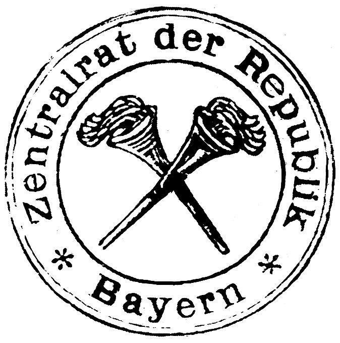 Stempel Zentralrat der Republik Bayern