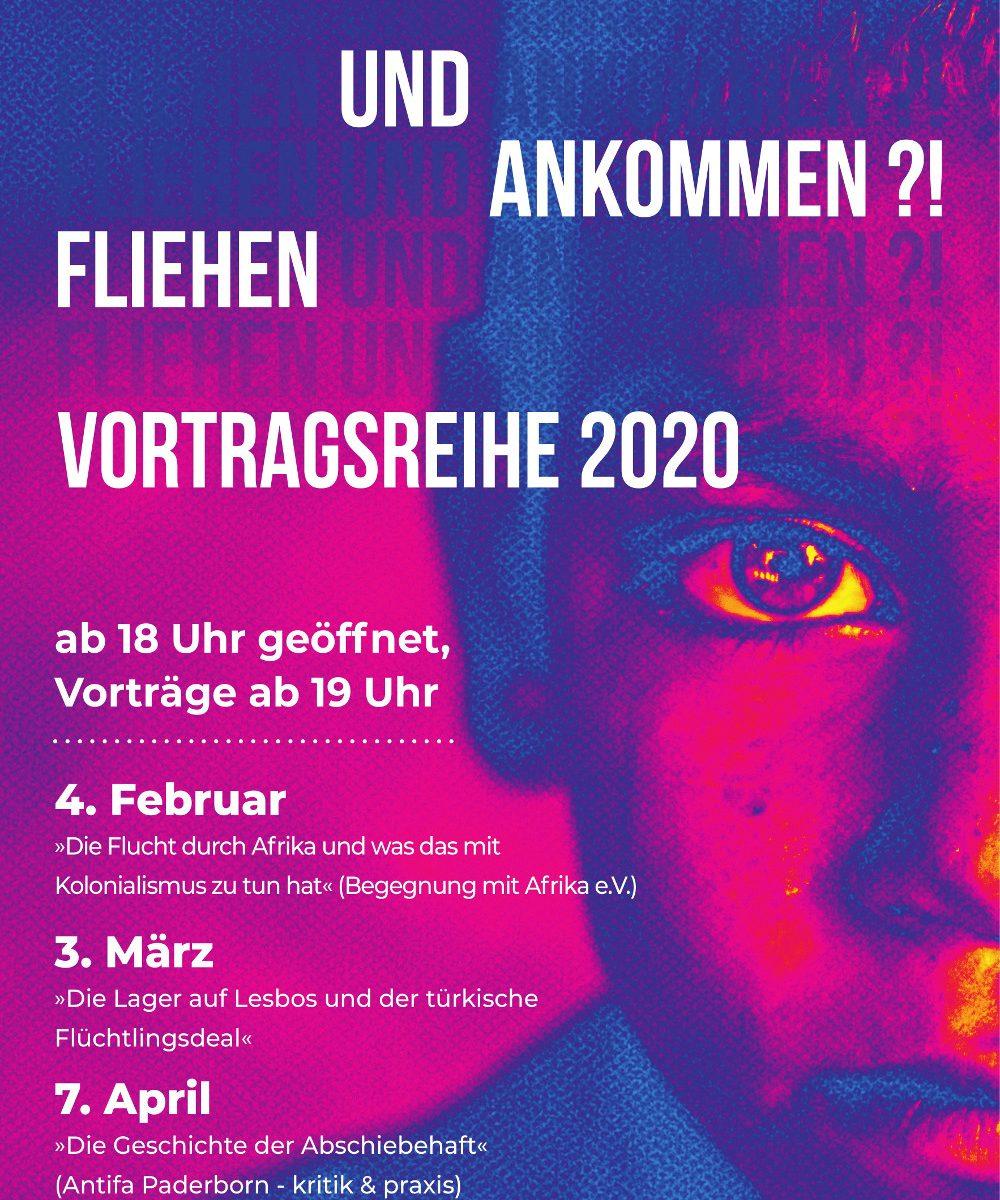 Fliehen und Ankommen – Vortragsreihe 2020